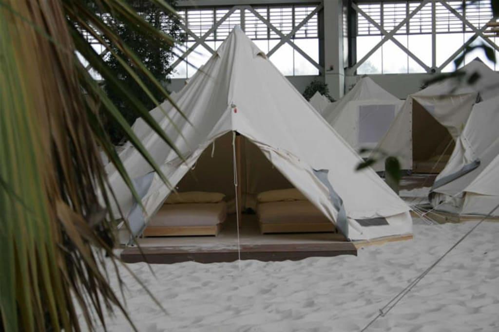 Zelt Tropical Island : Bild quot zelt zu tropical islands in krausnick