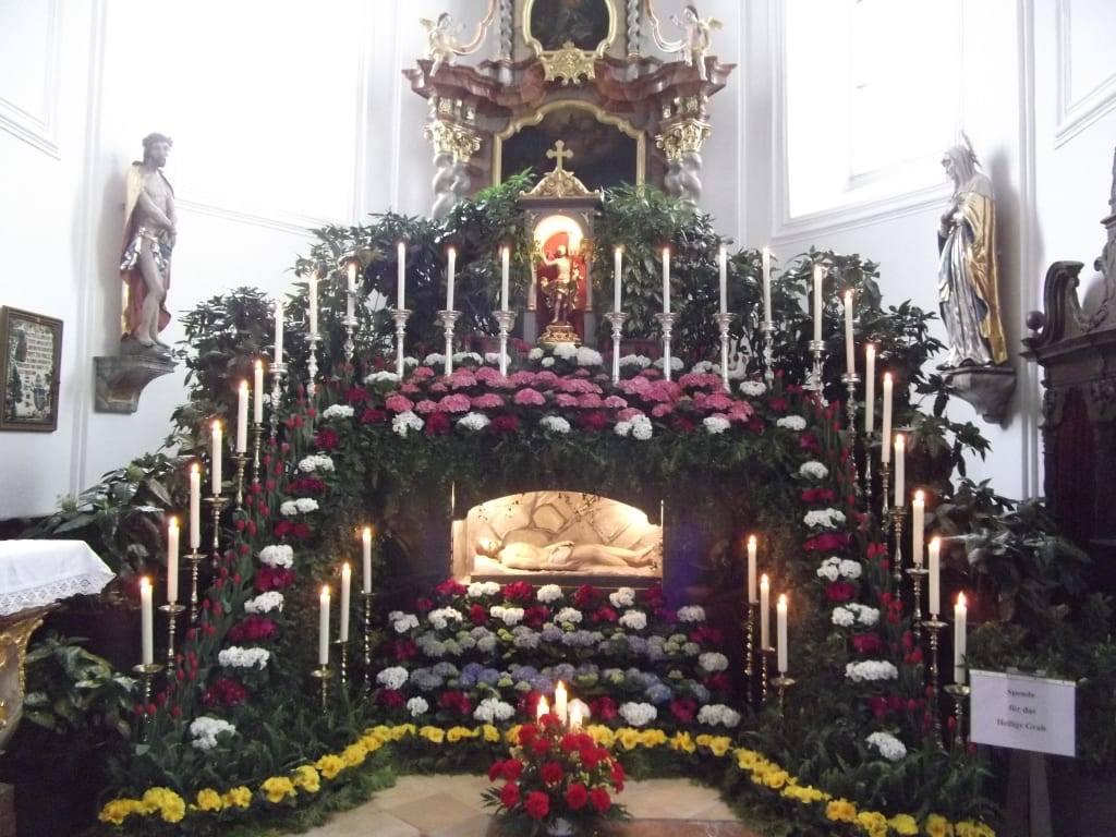 Das Hl.Grab von Neukirchen b.Hl.Blut