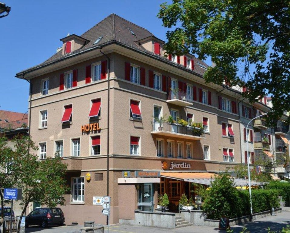 Bild hotel restaurant jardin bern zu hotel jardin in bern for Resto jardin