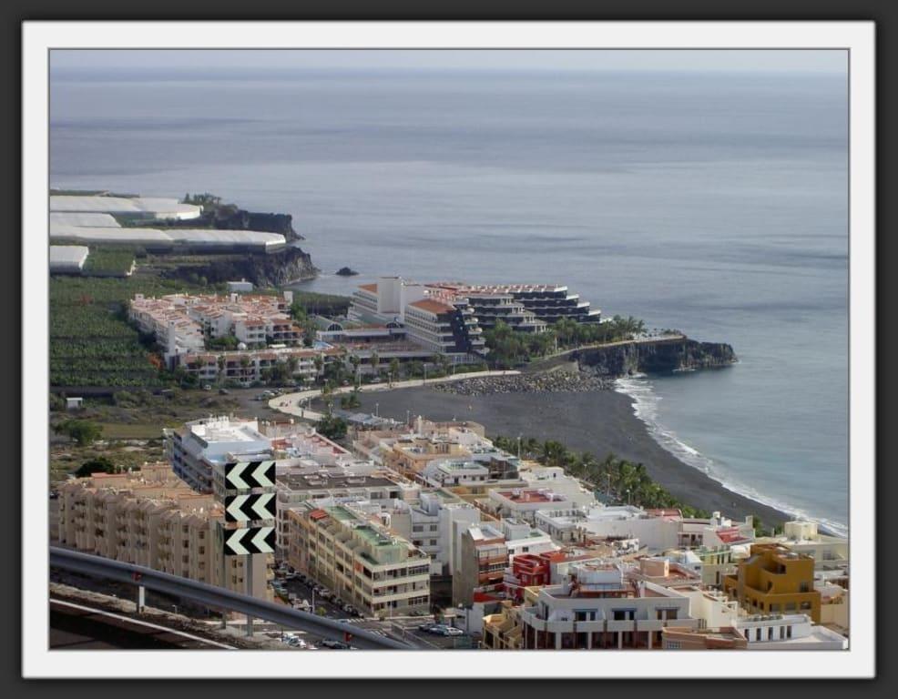Bild blick auf puerto naos und das hotel sol elite la palma zu puerto naos in puerto naos - Hotel sol puerto naos ...