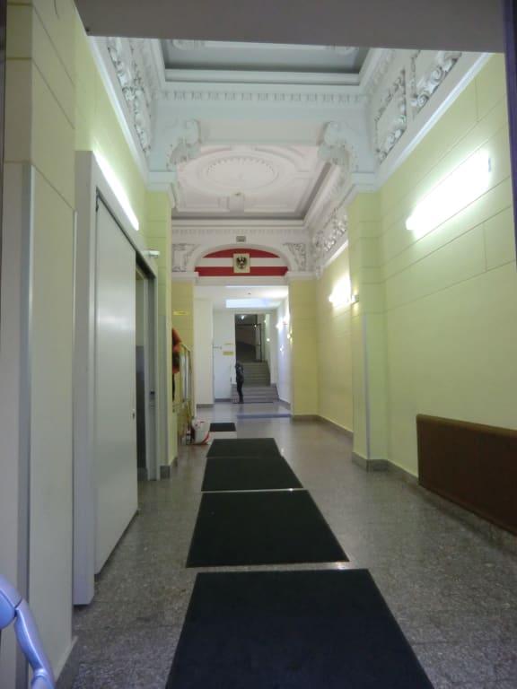 Bild Quot Eingangshalle Quot Zu Jugendg 228 Stehaus Hirschengasse In Wien
