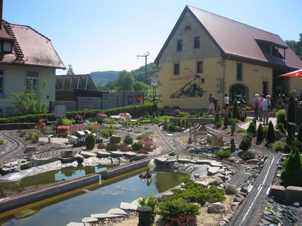 Die schöne sächsische Schweiz. Bild aufgenommen auf der Festung ...