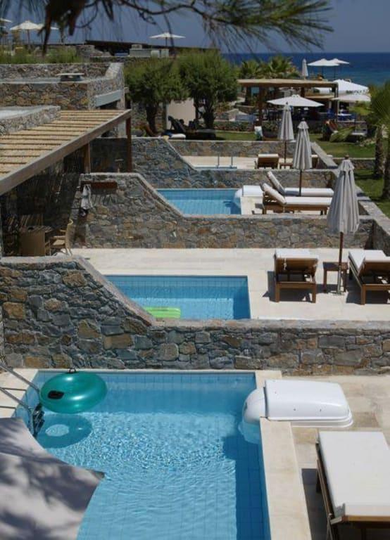 Bild Bungalows Mit Privat Pool Zu Ikaros Beach Luxury