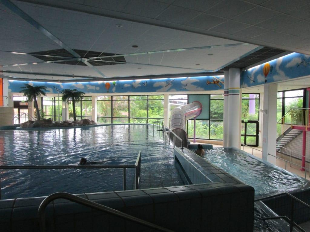 Bild Rutsche zu Aquadrom Hockenheim in Hockenheim