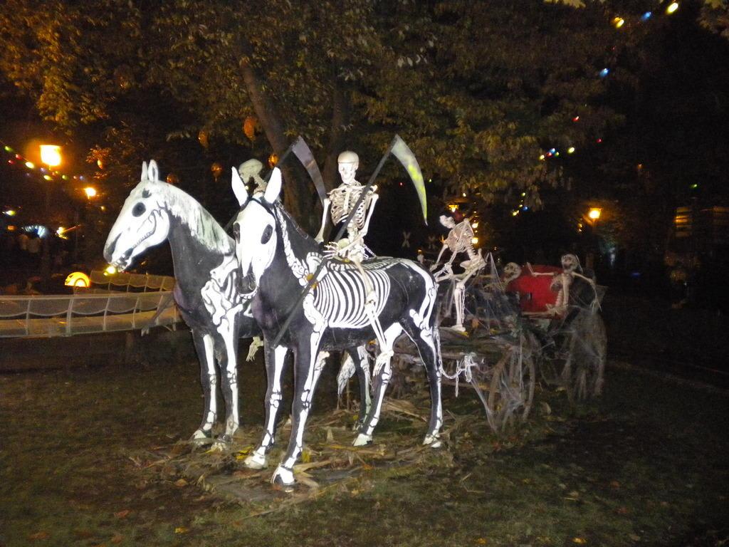 Bild Halloween Deko Zu Europa Park In Rust