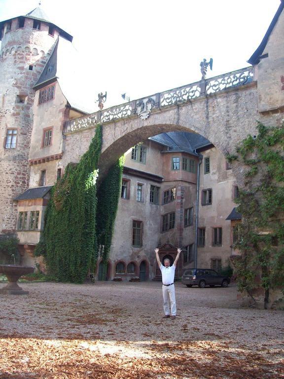 Bild Schloss Fürstenau Bei Michelstadt Zu Schloss Erbach In Erbach