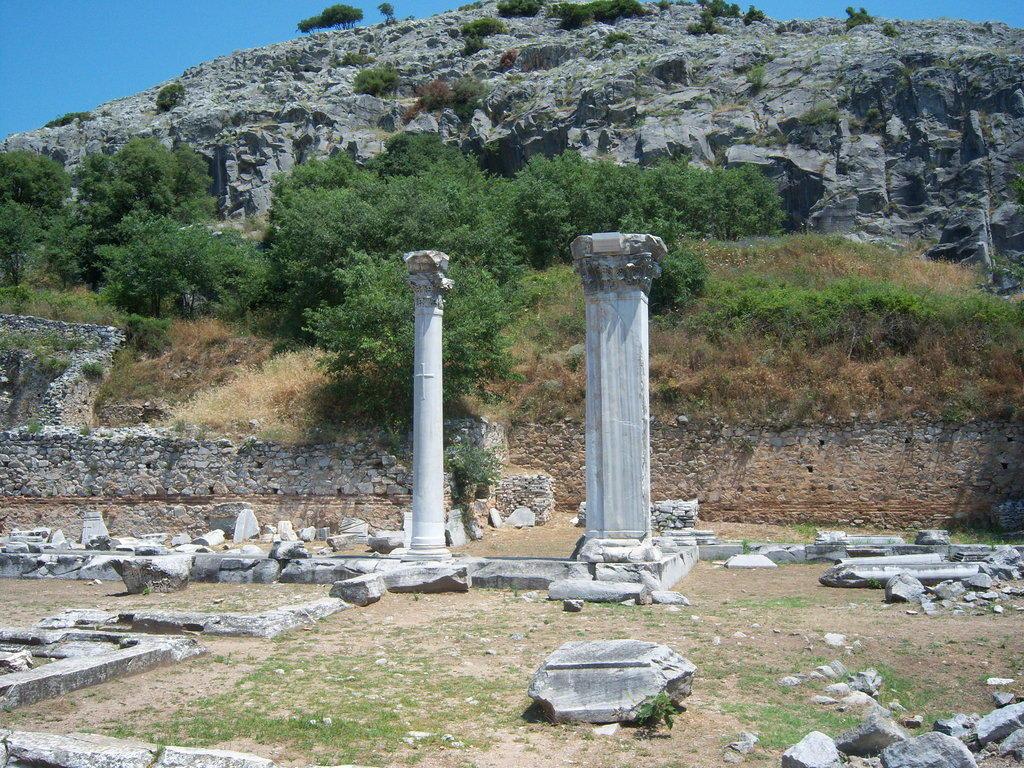 Obere Anlage von Philippi Bilder Burg/Palast/Schloss/Ruine Ausgrabungsstätte Philippi
