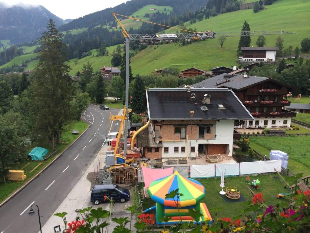 """Bild """"Baustelle am Spielplatz (08/2014)"""" zu Galtenberg ..."""