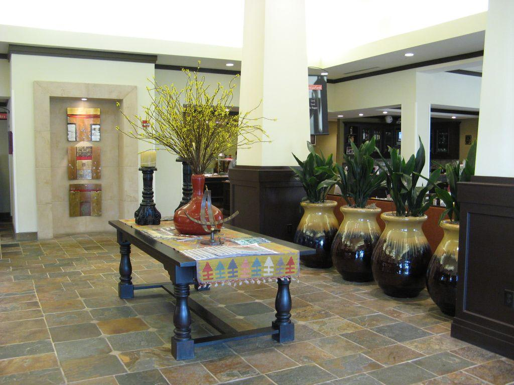 bild hilton garden inn el paso texas lobby zu hotel