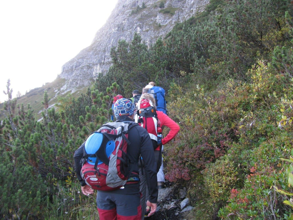 Klettersteig Gerlossteinwand : Klettersteig gerlossteinwand zillertal arena