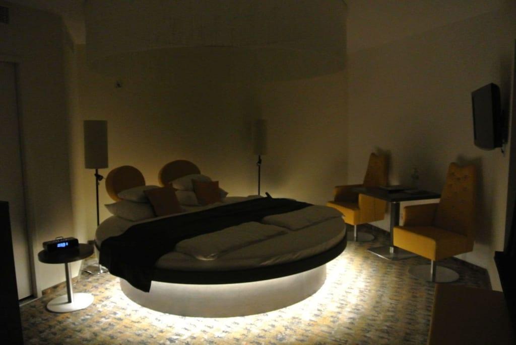 Rundes Bett   Möbel   Einebinsenweisheit