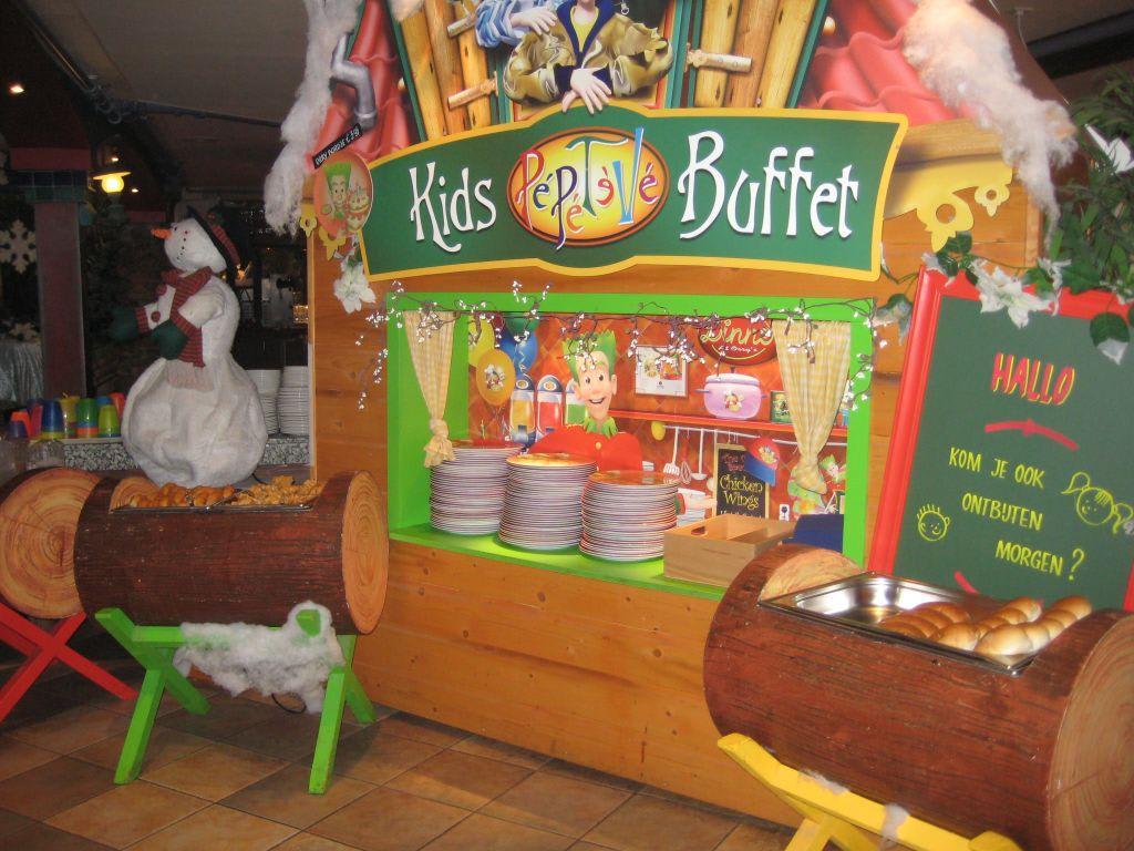 bild kinderbuffet zu center parcs het meerdal in horst aan de maas. Black Bedroom Furniture Sets. Home Design Ideas