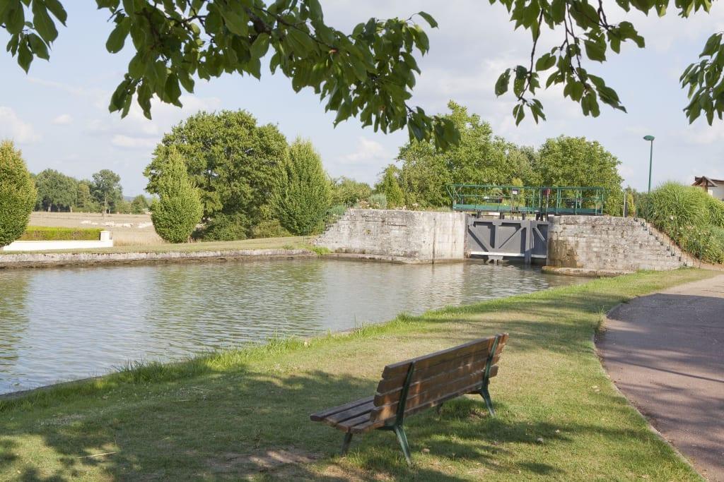 Bild ecluse du vllage zu belleville sur loire in for Belleville sur loire piscine