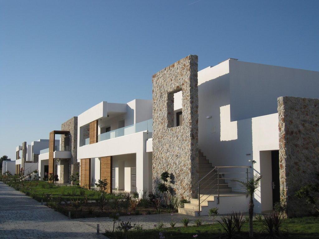 bild moderne architektur zu hotel palazzo del mare in marmari. Black Bedroom Furniture Sets. Home Design Ideas