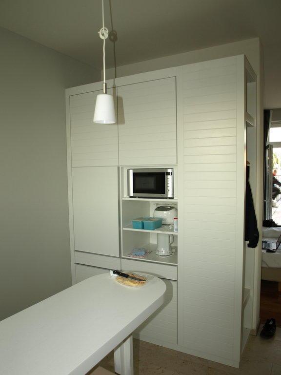 Bild quotpentrykuche iquot zu hotel im jaich boardinghouse for Pentryküche