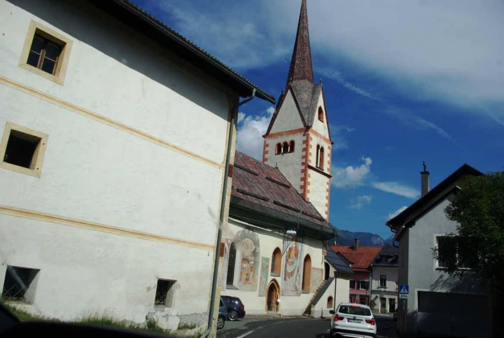 Kötschach-Mauthen Kirche sehr schön Bilder Sonstiges Landschaftmotiv Pfarrkirche Mauthen