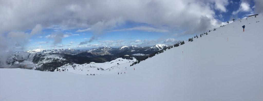 Bild Skigebiet Steinplatte Zu Waidring Steinplatte In Waidring