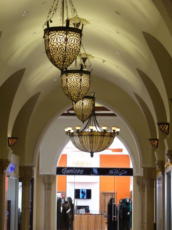 Bild tolle lampen zu dubai mall in dubai for Tolle lampen