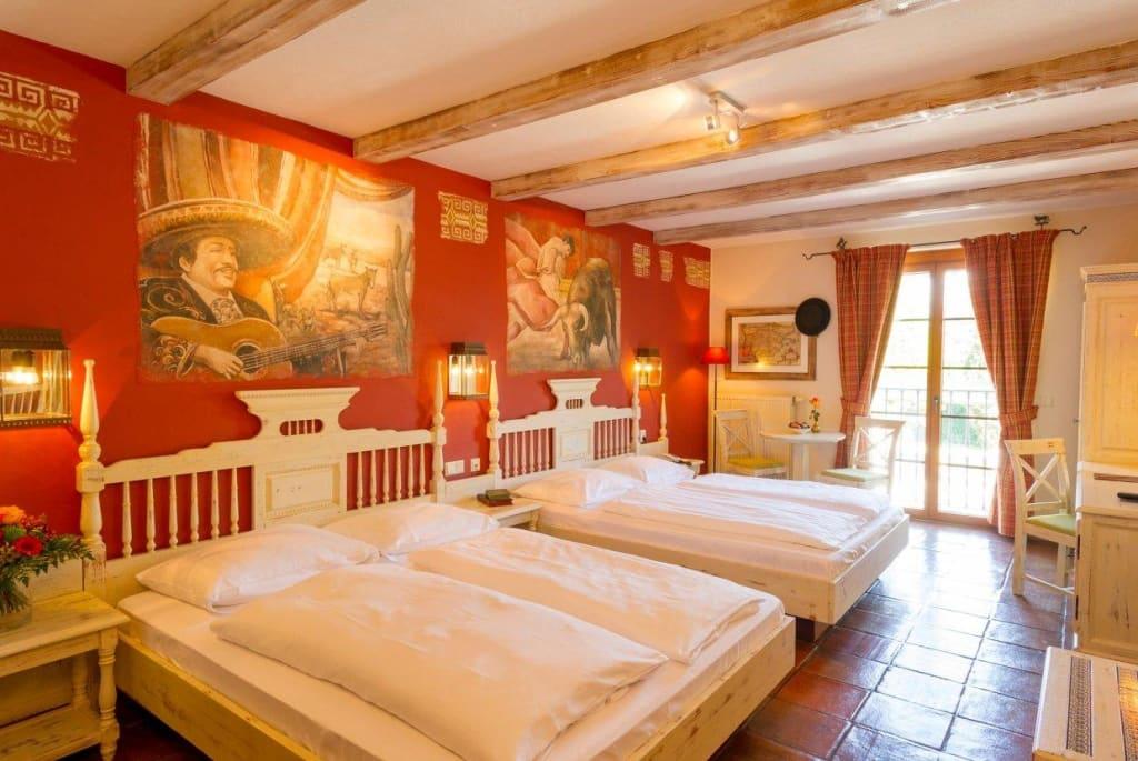 Bild twin bettzimmer hotel el andaluz zu hotel el for Zimmer hotel