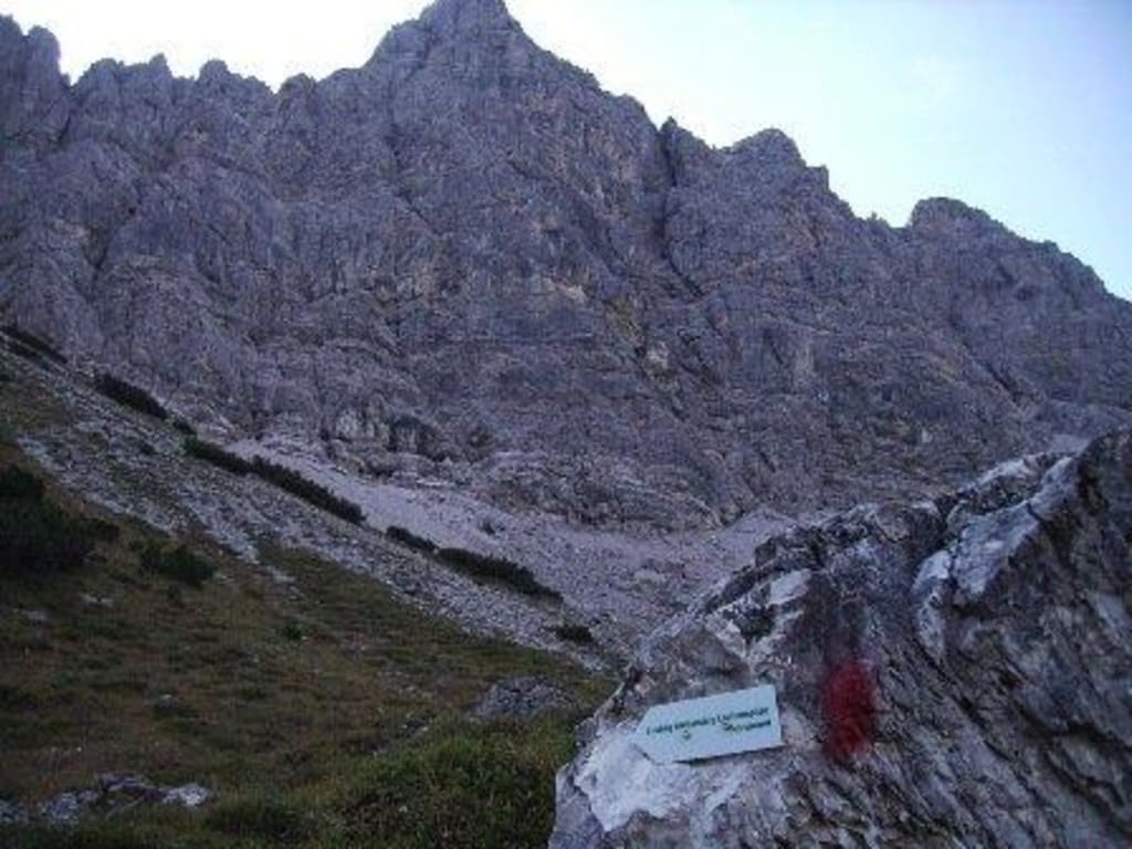 Klettersteig Lachenspitze Bilder : Mittelschwerer klettersteig lachenspitze nordwand