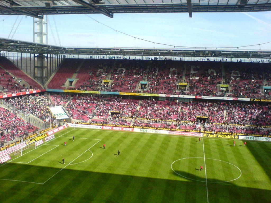 Rhein Energie Stadion Gästeblock