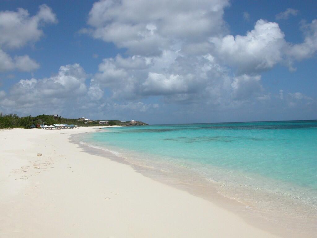 Bild Strand Zu Miami Beach In