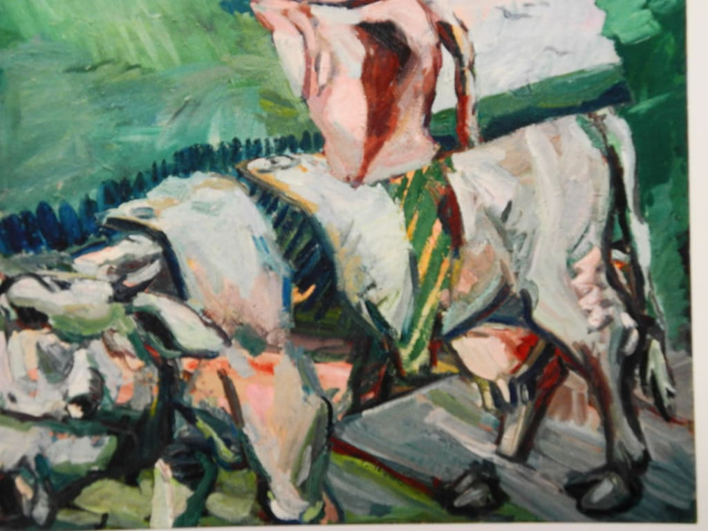 Bild Georg Baselitz 1968 Landlicher Realismus Zu Galerie Stihl