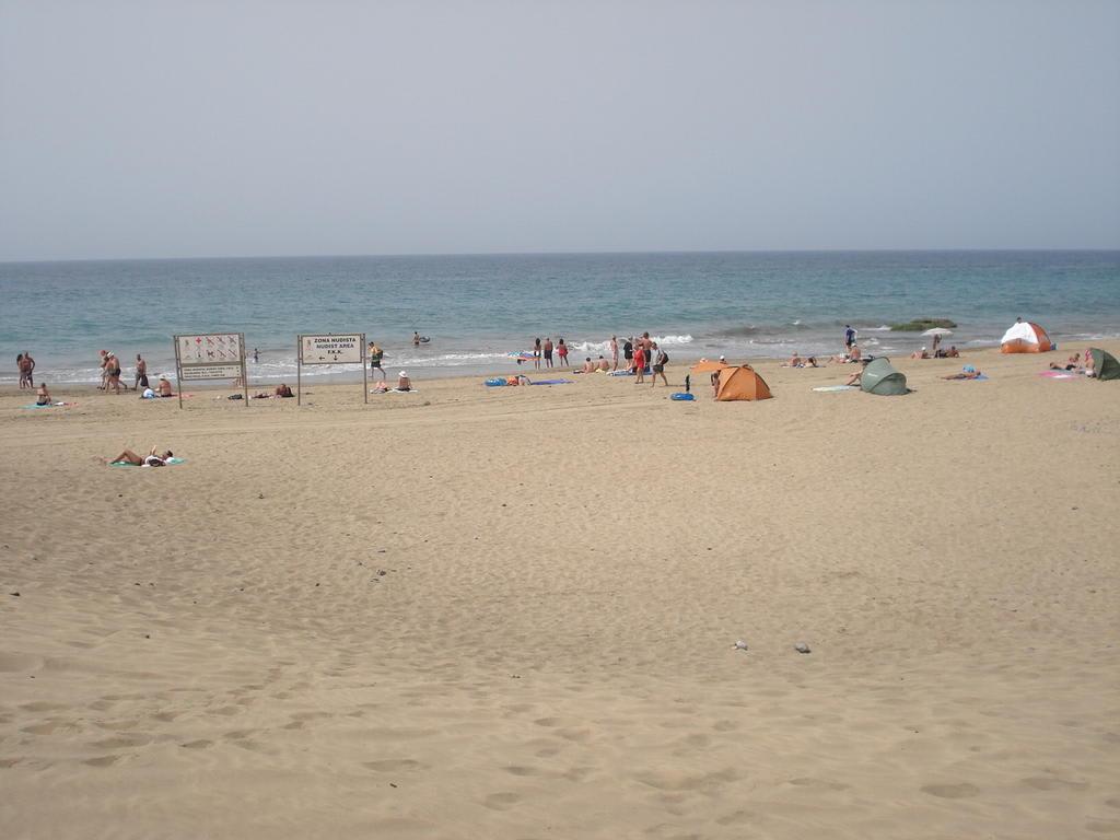 Bild Der Fkk-Strand zu Strand Maspalomas in Maspalomas