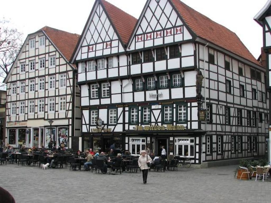 bild marktplatz zu altstadt soest in soest. Black Bedroom Furniture Sets. Home Design Ideas
