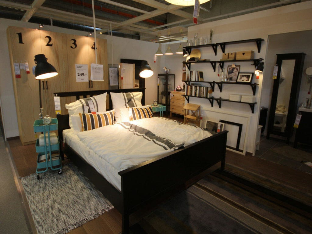 bild verkaufsr ume schlafzimmer zu ikea gro burgwedel in. Black Bedroom Furniture Sets. Home Design Ideas