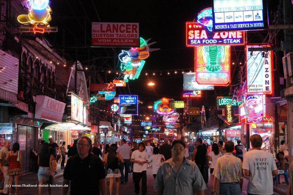 Pattayas Nachtleben Bilder Stadt/Ort Pattaya Walking Street