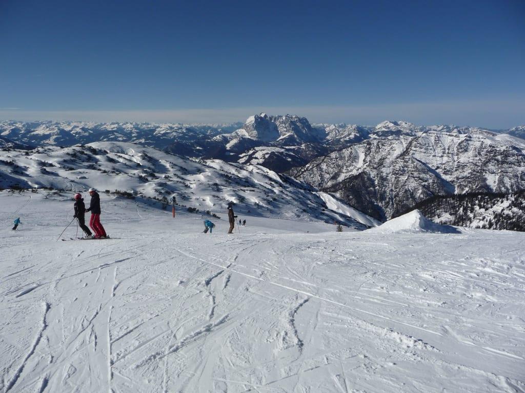 Bild Skigebiet Steinplatte Mit Wilder Kaiser Zu Waidring