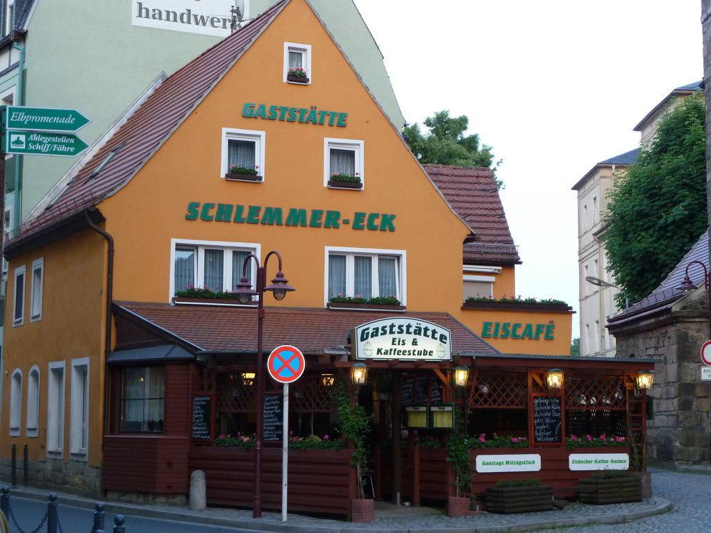 Bild einfaches aber gutes lokal direkt am markt zu schlemmer eck in bad schandau for Gutes restaurant mannheim