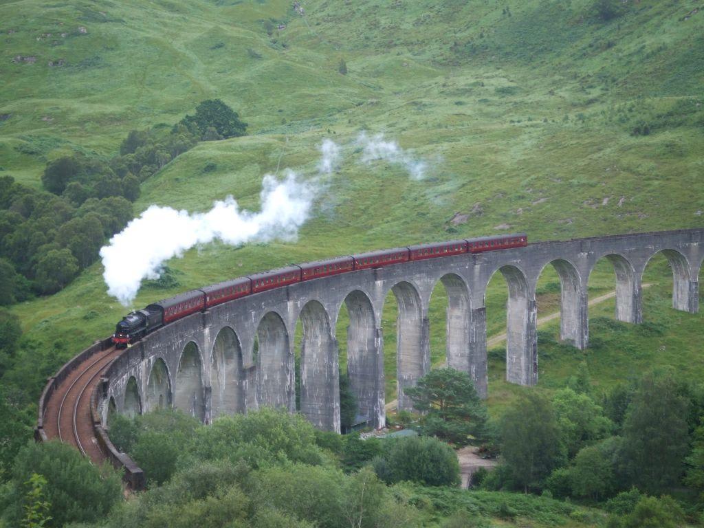 """""""Hogwarts Express"""" Bilder Sonstige Sehenswürdigkeit Glenfinnan Viaduct"""