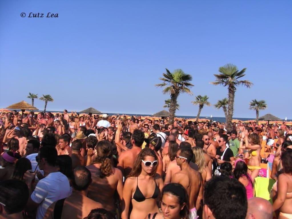 Bild papeete beach bagno zu milano marittima in milano - Bagno oreste milano marittima ...