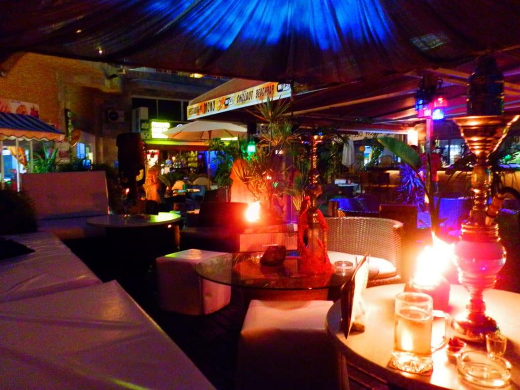 bild mono beach shisha bar zu ifa continental hotel in playa del ingles. Black Bedroom Furniture Sets. Home Design Ideas