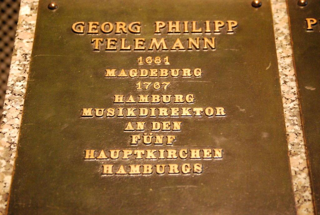 Resultado de imagen de telemann hamburg