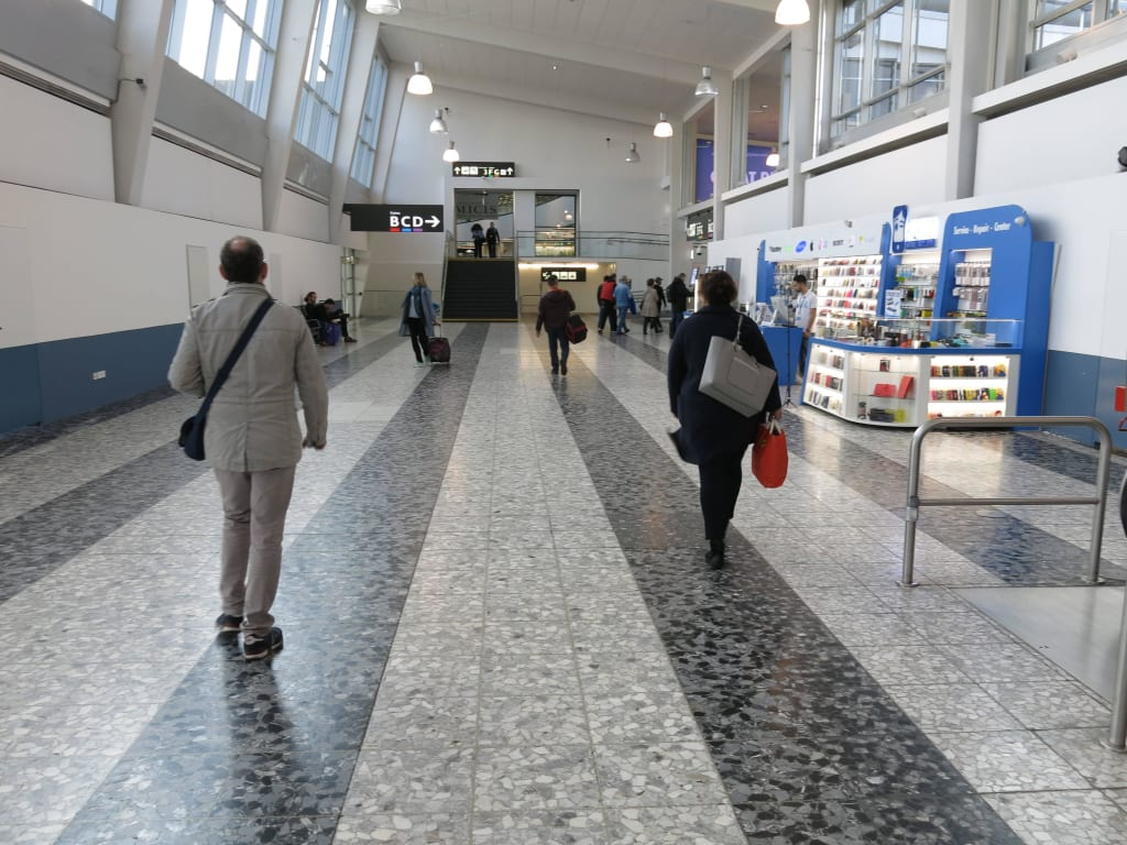 Bilder Weg Zum Abflug Terminal 1 Reisetipps