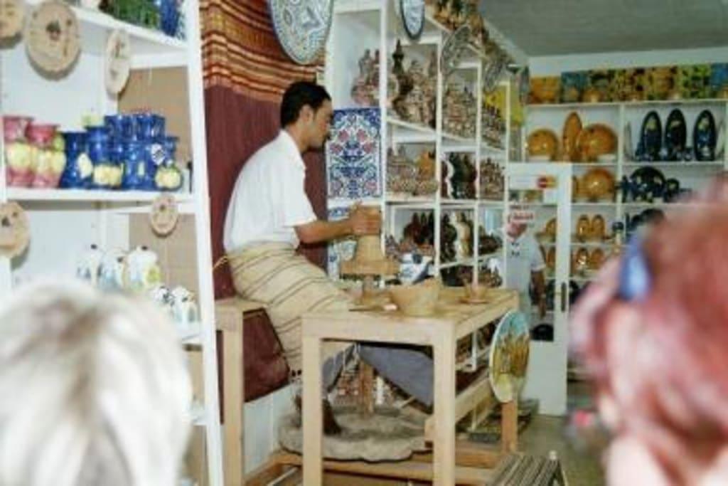 bild t pferei tunesien zu tunesien in tunesien. Black Bedroom Furniture Sets. Home Design Ideas