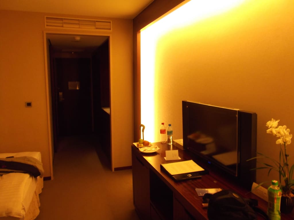 bild indirektes licht zu hotel del lago in nantou. Black Bedroom Furniture Sets. Home Design Ideas