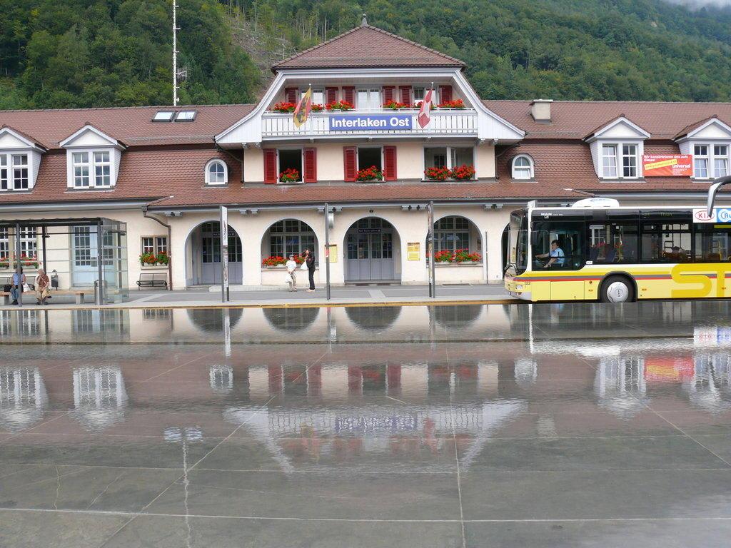 Bahnhof Interlaken-Ost Bilder Sonstige Gebäude Interlaken