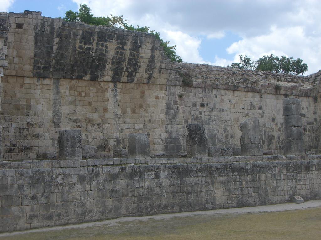 Die Mauer Bilder Burg/Palast/Schloss/Ruine Ruine Chichén Itzá