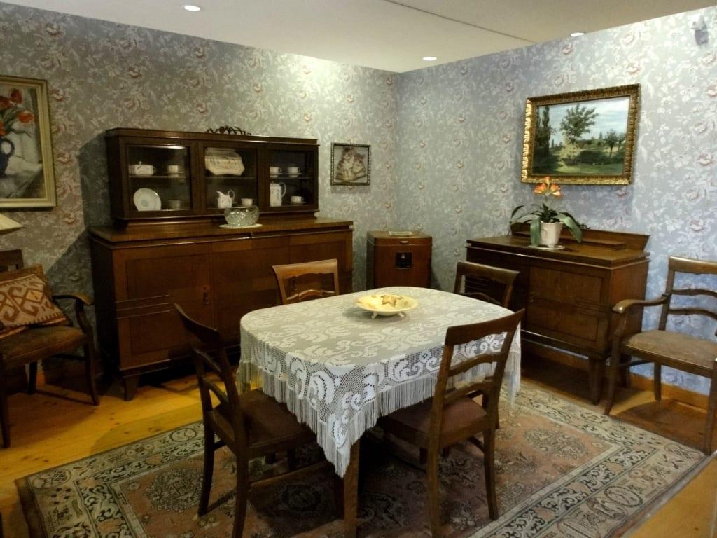 Bild Wohnzimmer Um 1930 Zu Historisches Museum Am Hohen