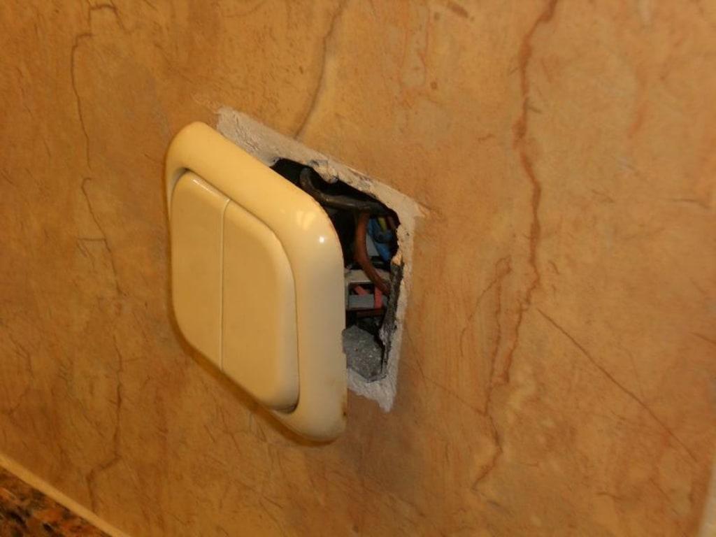 bild badezimmer steckdose von unserem zimmer zu clubhotel riu bachata in maimon