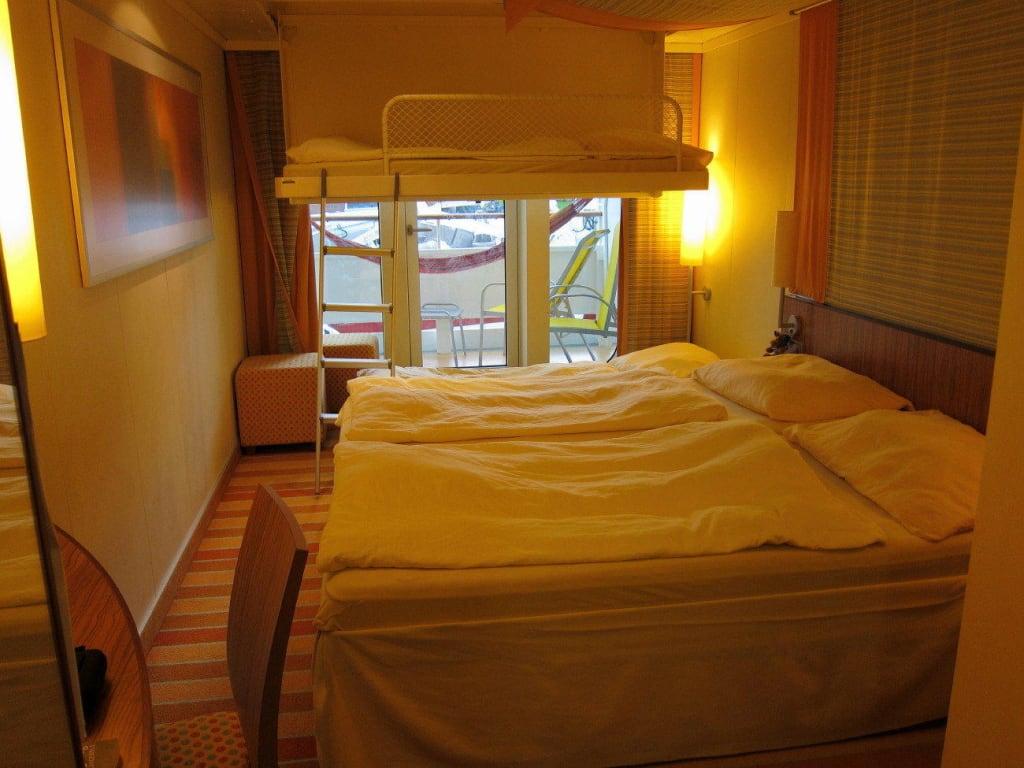 bild 4 bett balkon deck 5 zu aidaluna in. Black Bedroom Furniture Sets. Home Design Ideas