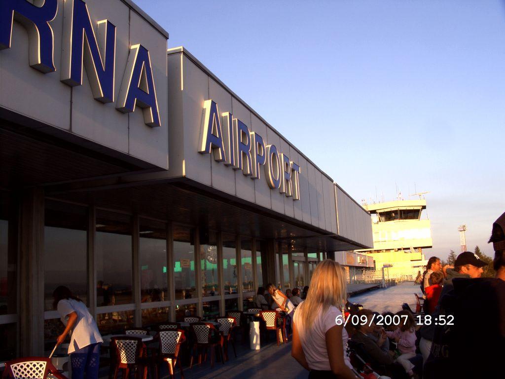 Flughafen Varna mit Tower Bilder Sonstige Gebäude Flughafen Varna (VAR)