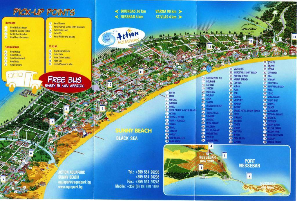 bulgarien sonnenstrand karte Hotels Am Sonnenstrand Bulgarien Karte | goudenelftal bulgarien sonnenstrand karte
