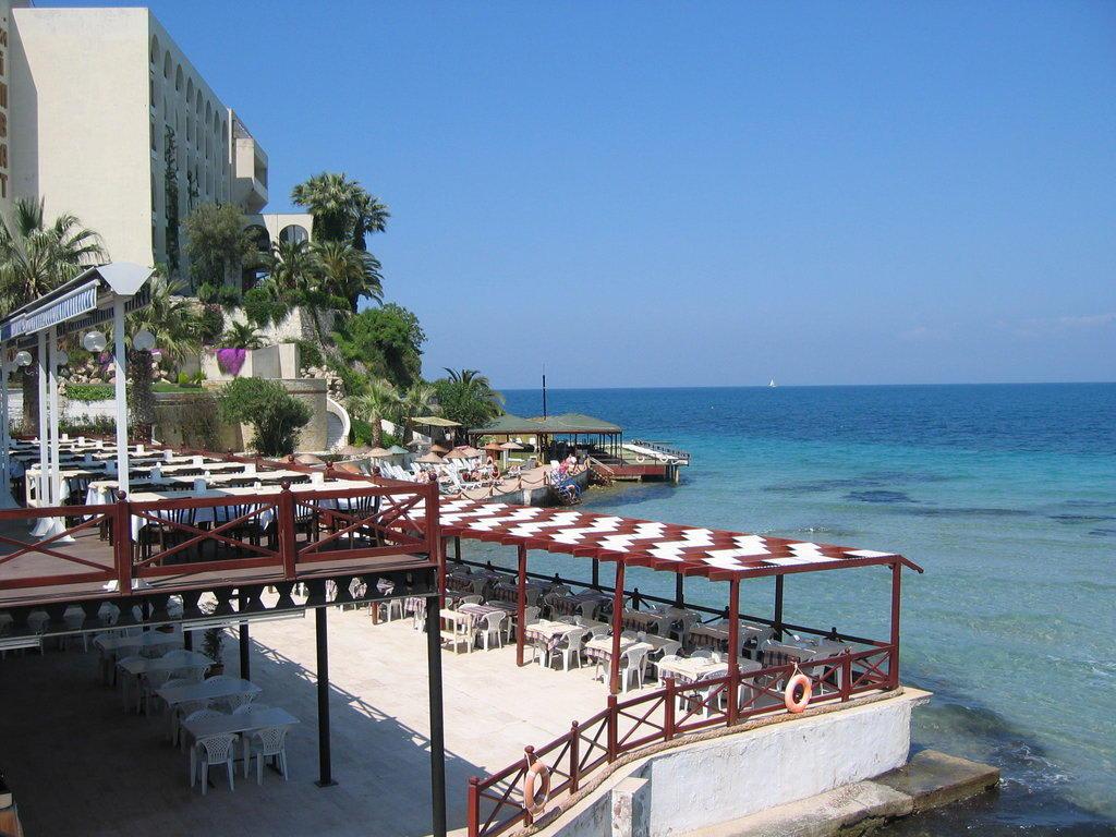 Kusadasi Hotels on The Beach Hotel Marti Beach in Kusadasi