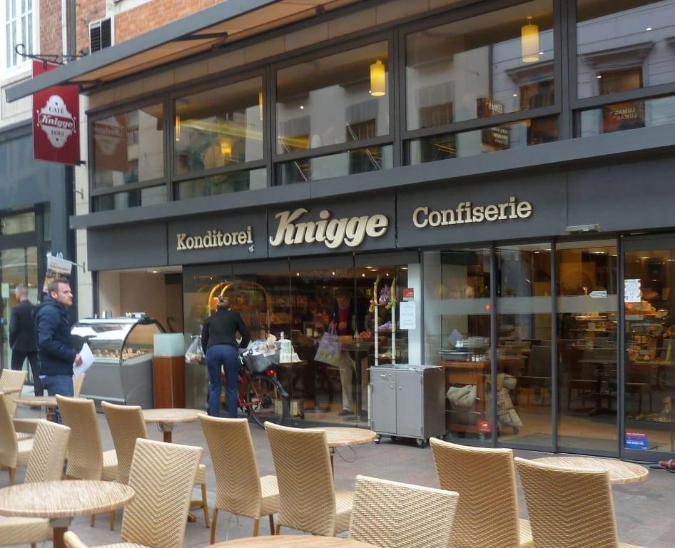 Knigge Bremen bild in der fußgängerzone sögestraße 42 zu café knigge in bremen