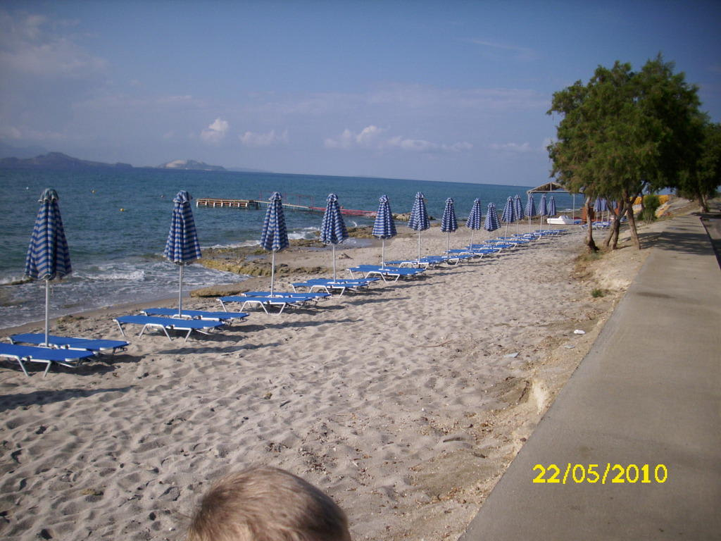 "Bild ""Strand"" zu Hotel Mikri Poli Kos Family in Kardamena"